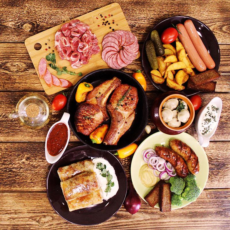 Мясные деликатесы и полуфабрикаты Деревня Соловьи